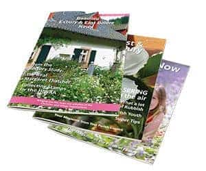 A range of booklets